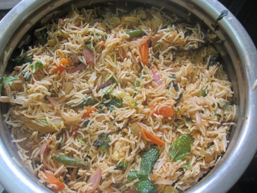 Perfect Veg Biriyani