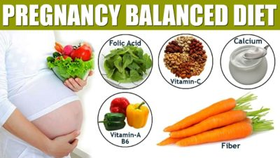 balanced lifestyle during pregnancy